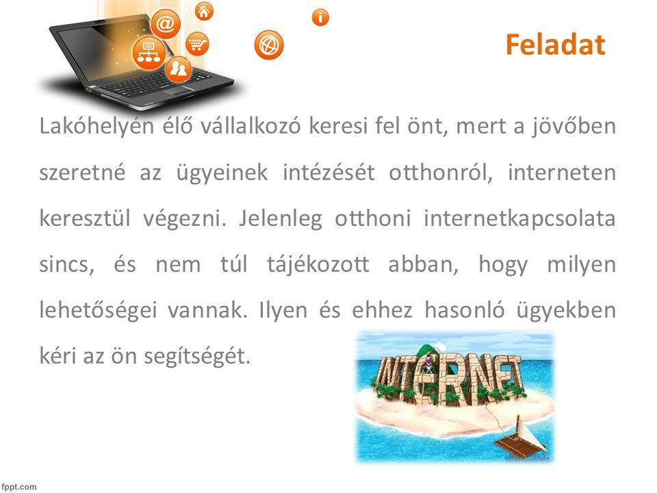 Felhasználó baráttá váljon • Három lehetőség 1.Internetről letöltött és könyvesboltban megvásárolható internet használatáról szóló írások 2.Számítógépes, internetes tanfolyam iskolákban  tapasztalás 3.Internetes videóról való tanulás (otthoni segítség és meglévő tapasztalat) Digitális közösség projekt