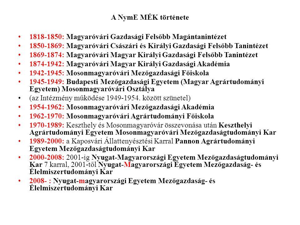 NymE Erdőmérnöki Kar (1) Jogelőd, történet Jogelőd a Selmecbányán III.