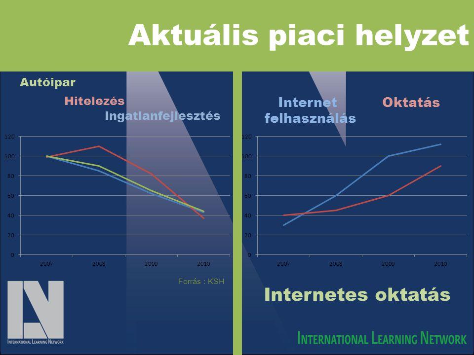 International Learning Network •Amerikai vállalat •Internet alapú oktatással foglalkozik •Célja a Európa és a globális piacok • Kiindulópontja Magyarország •Személyes marketing hatékonysága