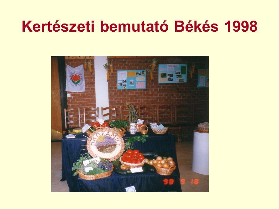 Kertészeti bemutató Békés 1998