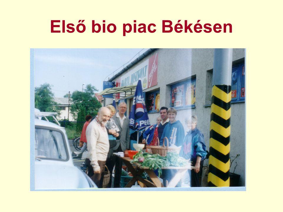 Első bio piac Békésen