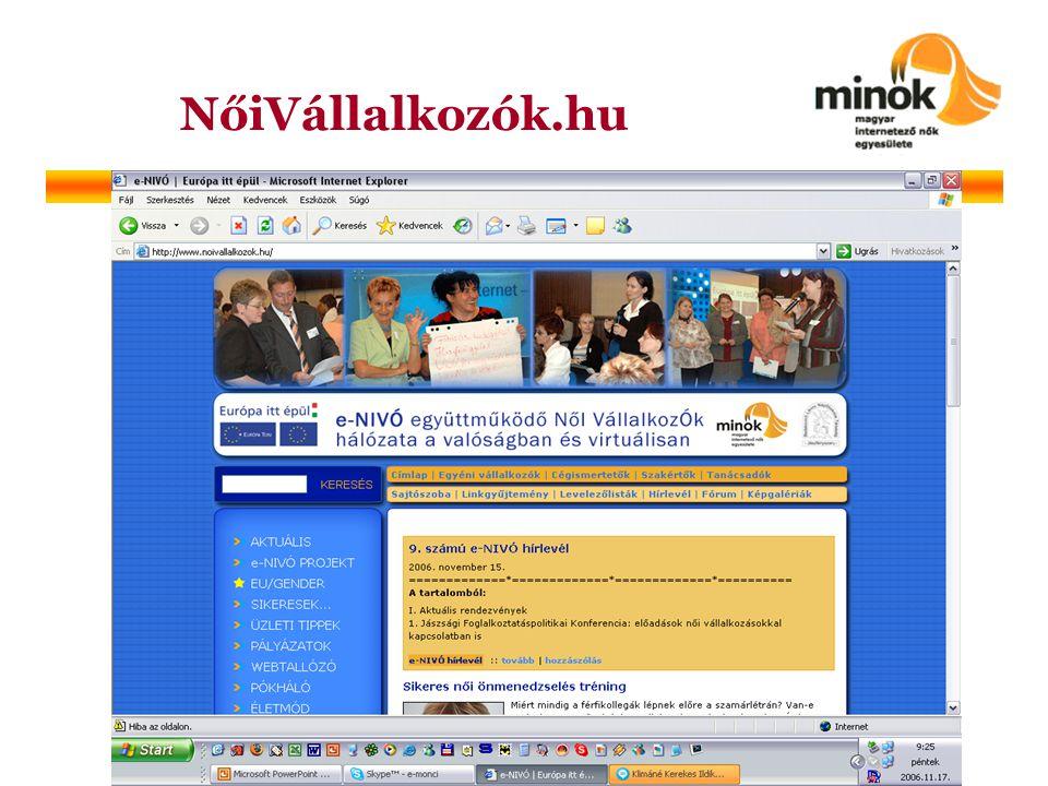 NőiVállalkozók.hu