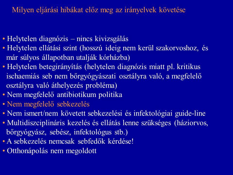 • Helytelen diagnózis – nincs kivizsgálás • Helytelen ellátási szint (hosszú ideig nem kerül szakorvoshoz, és már súlyos állapotban utalják kórházba)