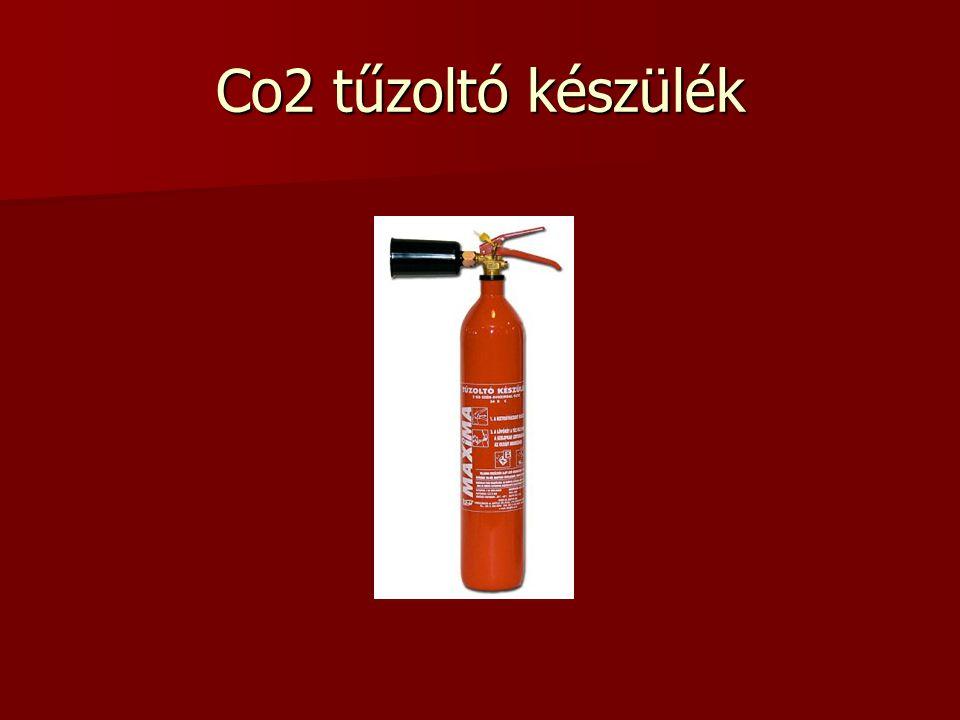 Co2 tűzoltó készülék