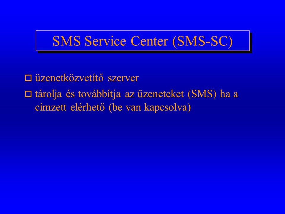 Készülék Azonosító Regiszter (EIR) o készülék azonosítókat (IMEI) tároló adatbázis (lista) o fehér lista - elfogadott mobil készülék típusok o fekete
