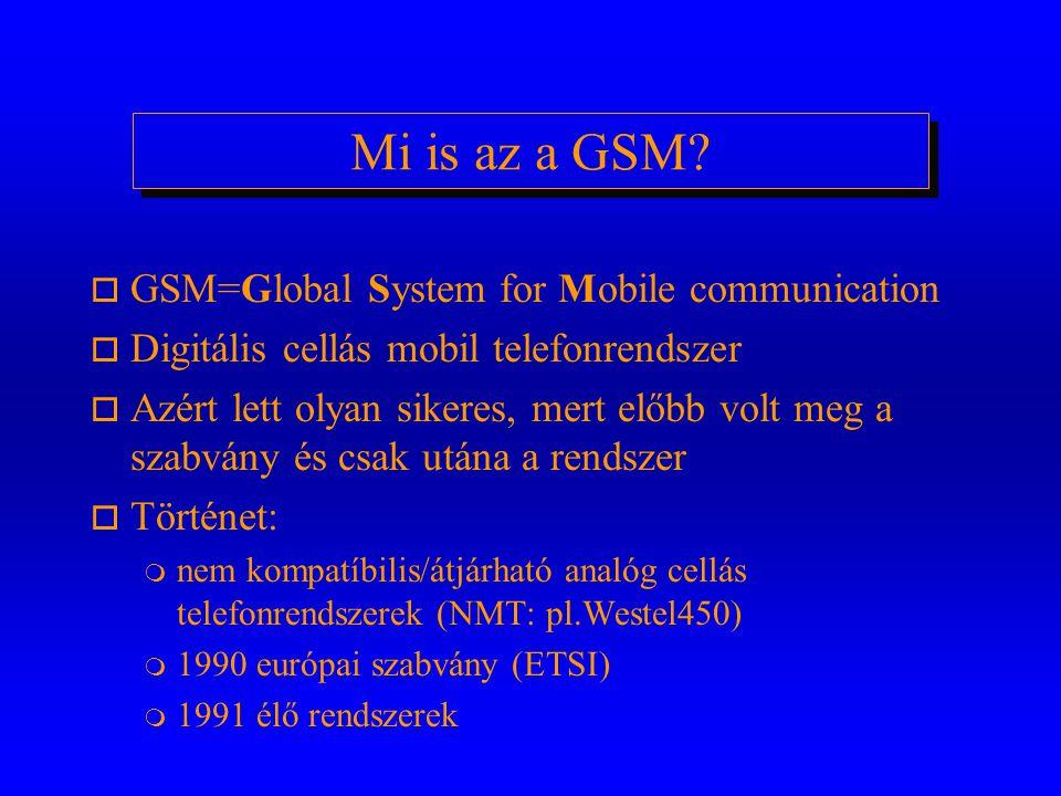 Mi is az a GSM.