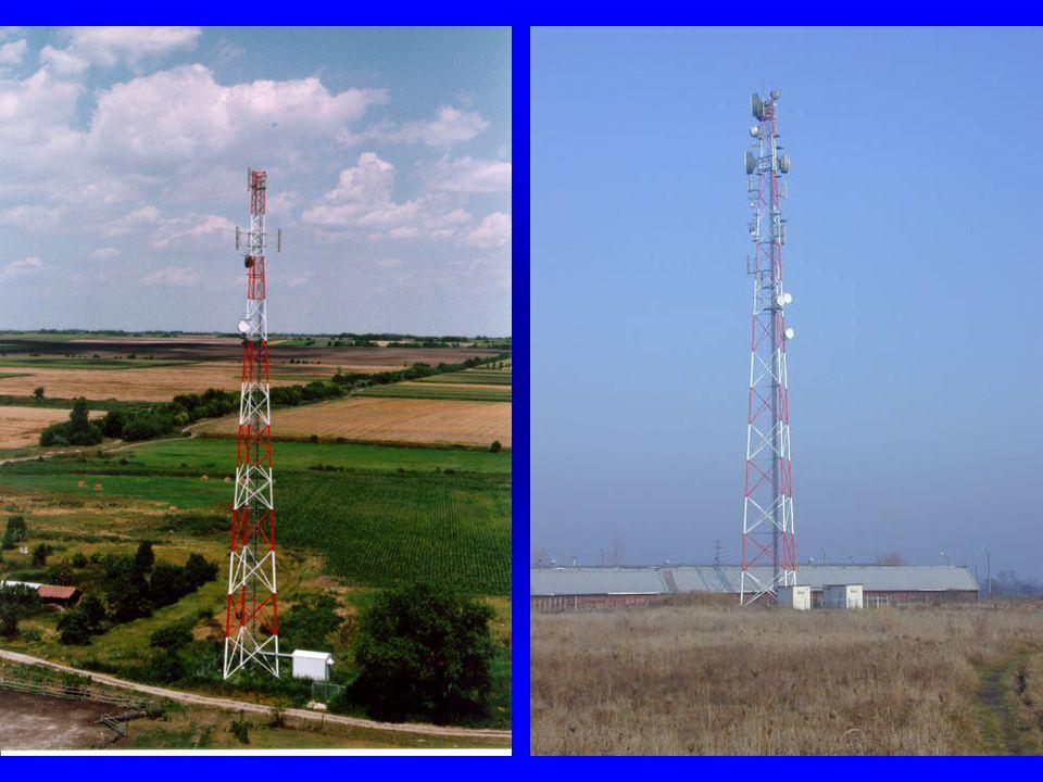 A fizikai réteg jellemzői o Frekvencia sáv: m 890-915MHz (MS  BTS) és 935-960MHz (BTS  MS) m 124 db 200kHz-es csatorna (40db/szolgáltató) o Csatorna hozzáférés módja m Hogyan és hányan tudnak egy cellából többen telefonálni egyszerre.