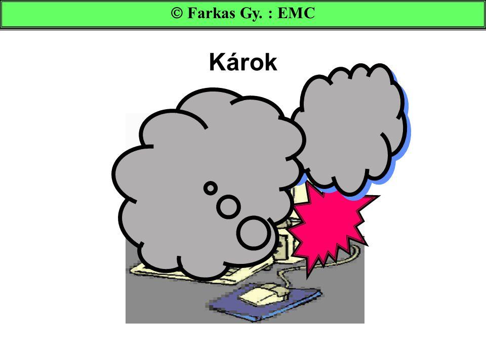 Károk  Farkas Gy. : EMC