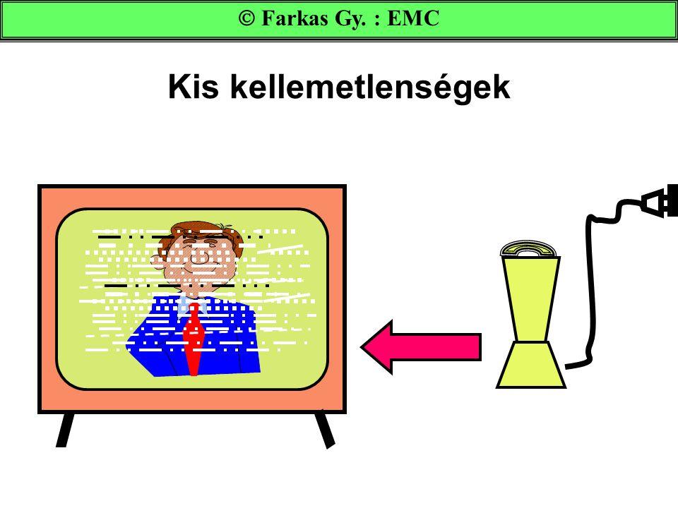 Kis kellemetlenségek  Farkas Gy. : EMC