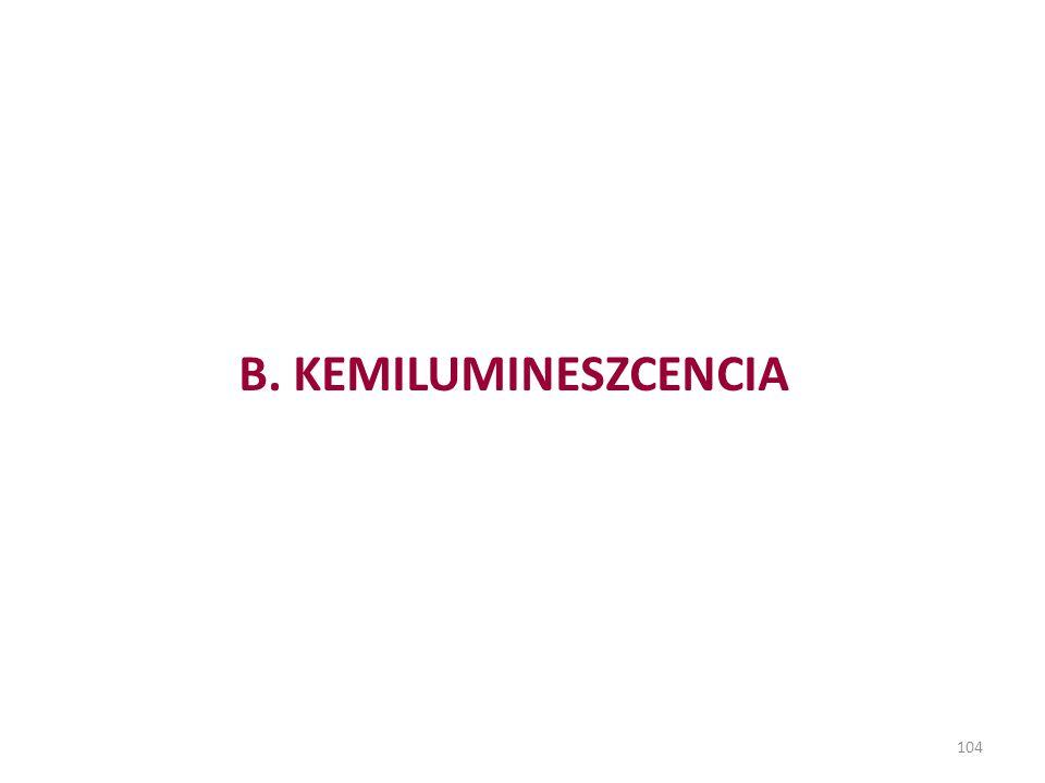104 B. KEMILUMINESZCENCIA