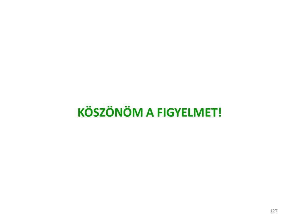 127 KÖSZÖNÖM A FIGYELMET!