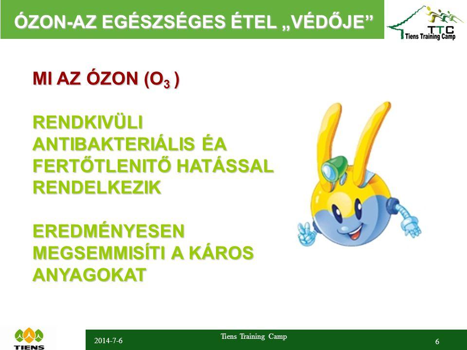 """2014-7-6 Tiens Training Camp 6 ÓZON-AZ EGÉSZSÉGES ÉTEL """"VÉDŐJE ÓZON-AZ EGÉSZSÉGES ÉTEL """"VÉDŐJE 没有资格要求 大量的经销商加入 庞大的销售业绩 MI AZ ÓZON (O 3 ) RENDKIVÜLI ANTIBAKTERIÁLIS ÉA FERTŐTLENITŐ HATÁSSAL RENDELKEZIKEREDMÉNYESEN MEGSEMMISÍTI A KÁROS ANYAGOKAT"""