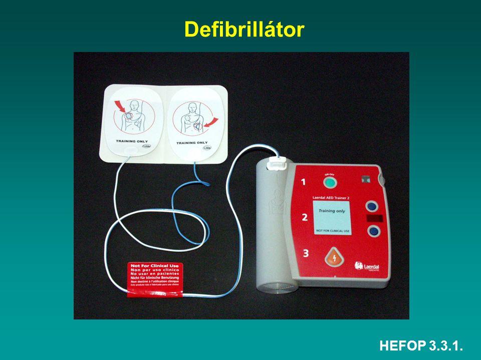 HEFOP 3.3.1. Defibrillátor