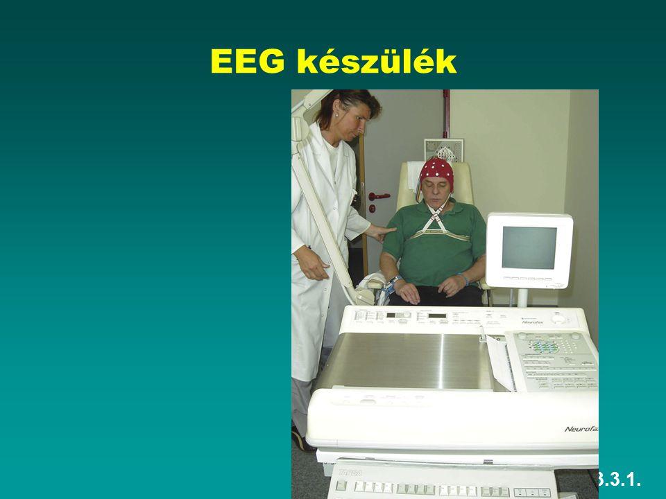 HEFOP 3.3.1. EEG készülék