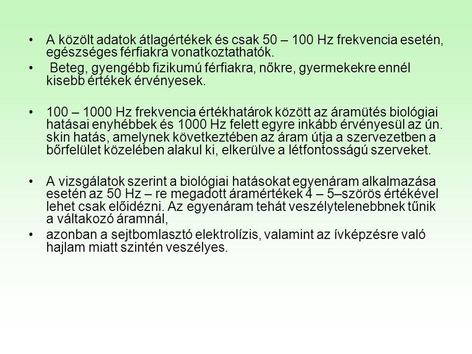 HEFOP 3.3.1.ELŐADÁS/GYAKORLAT ÖSSZEFOGLALÁSA •Villamosság biztonságtechnikája – érintésvédelem.
