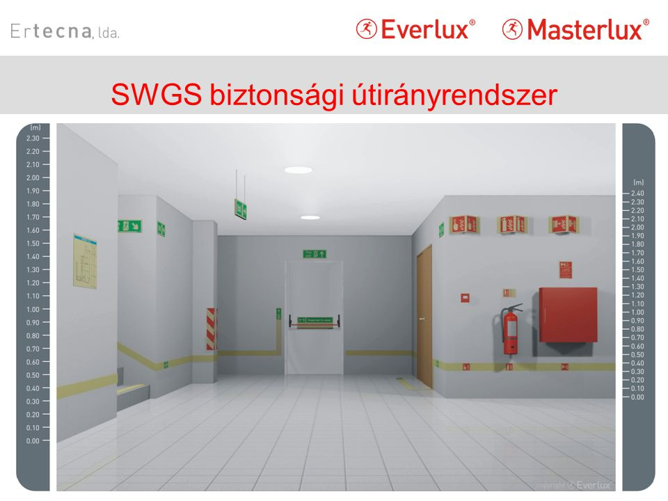 SWGS biztonsági útirányrendszer