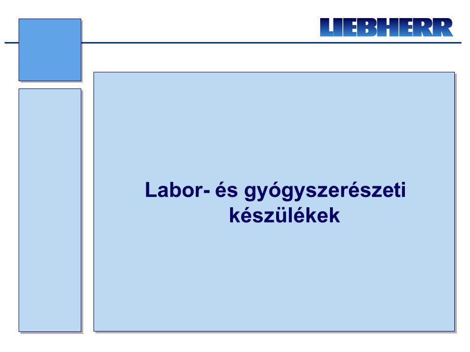 LGT fagyasztóláda család: •Statikus hűtési rendszer •-10 / -45 o C •Manuális leolvasztás •Akusztikus-, vizuális riasztás •RS 485 soros interfész •Termék szonda előkészítés •Zárható •SN klímaosztály •R 290 hűtőközeg 3 méret: •LGT 4725459 / 431 liter (1648x808x919 mm) •LGT 3725365 / 342 liter (1373x808x919 mm) •LGT 2325215 / 200 liter (1132x760x919 mm) Liebherr újdonságok 2012