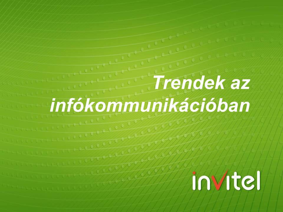 Trendek az infókommunikációban