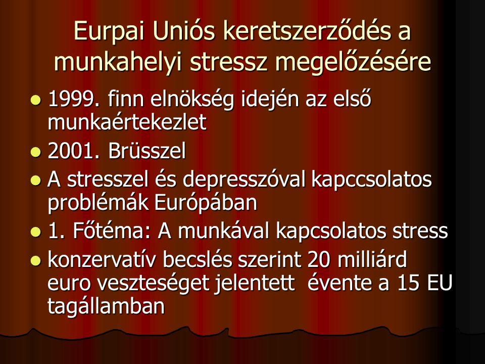 Munkával kapcsolatos stresszorok és a korai halálozás (40-69 év) összefüggései a Hungarostudy 2006 követéses vizsgálat szerint