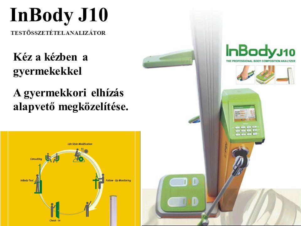 InBody J10 TESTÖSSZETÉTEL ANALIZÁTOR Kéz a kézben a gyermekekkel A gyermekkori elhízás alapvető megközelítése.