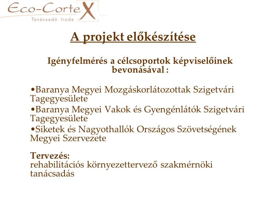A projekt időtartama: Pályázat benyújtásának időpontja: 2007.