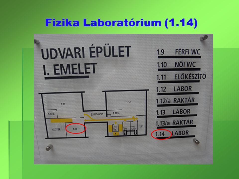 Fizika Laboratórium (1.14)