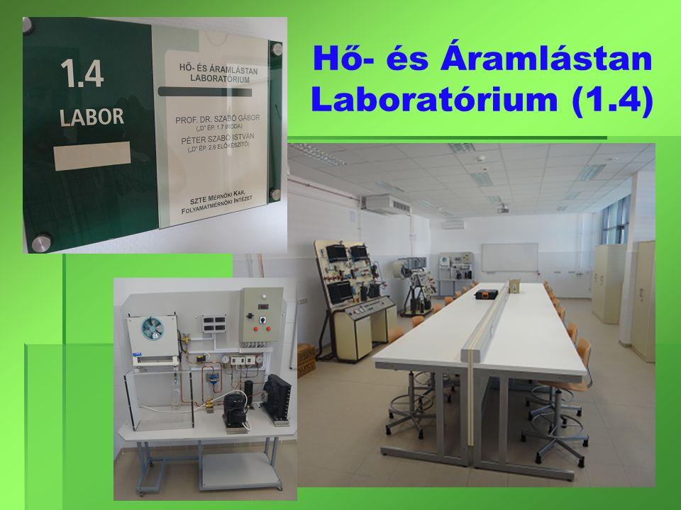 Hő- és Áramlástan Laboratórium (1.4)