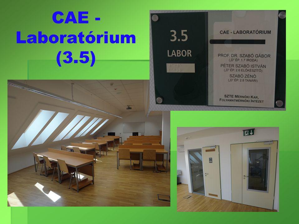 CAE - Laboratórium (3.5)