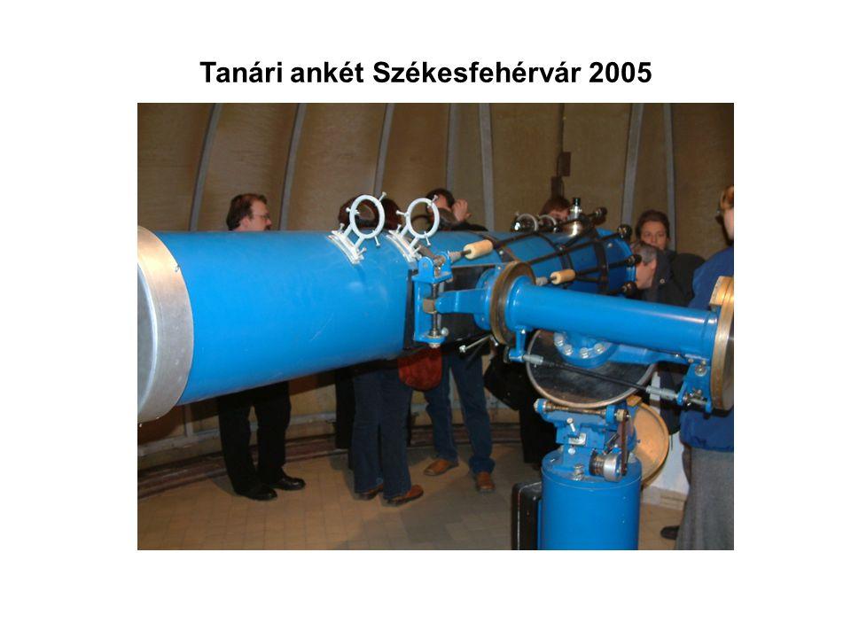Tanári ankét Székesfehérvár 2005