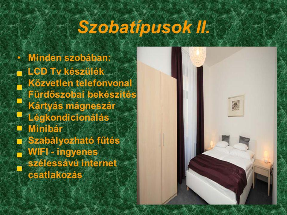Szobatípusok II.