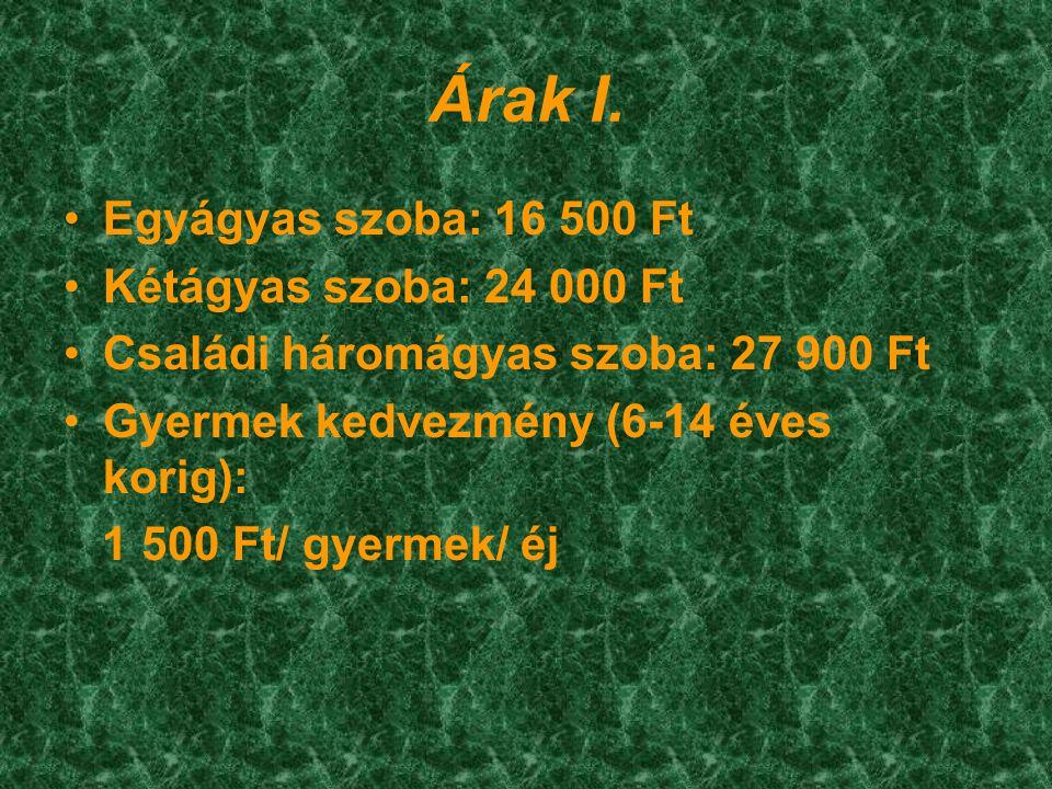 Árak II.