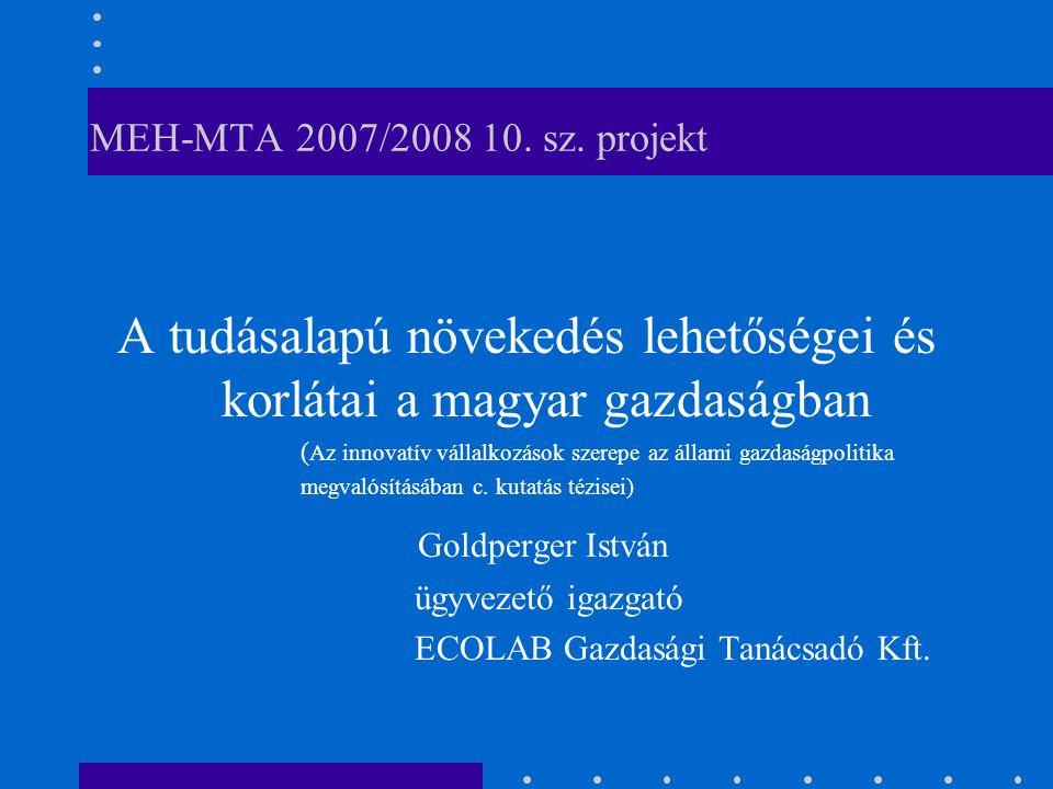 MEH-MTA 2007/2008 10. sz.