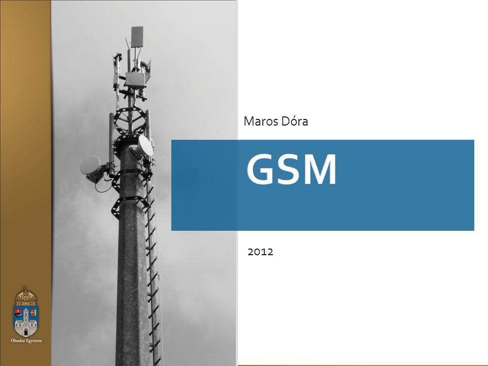 GSM GSM900 : uplink: 890~915MHz downlink: 935~960MHz duplex távolság: 45MHz sávszélesség: 25MHz fr.