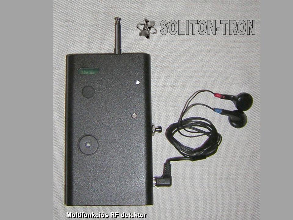 Multifunkciós RF detektor
