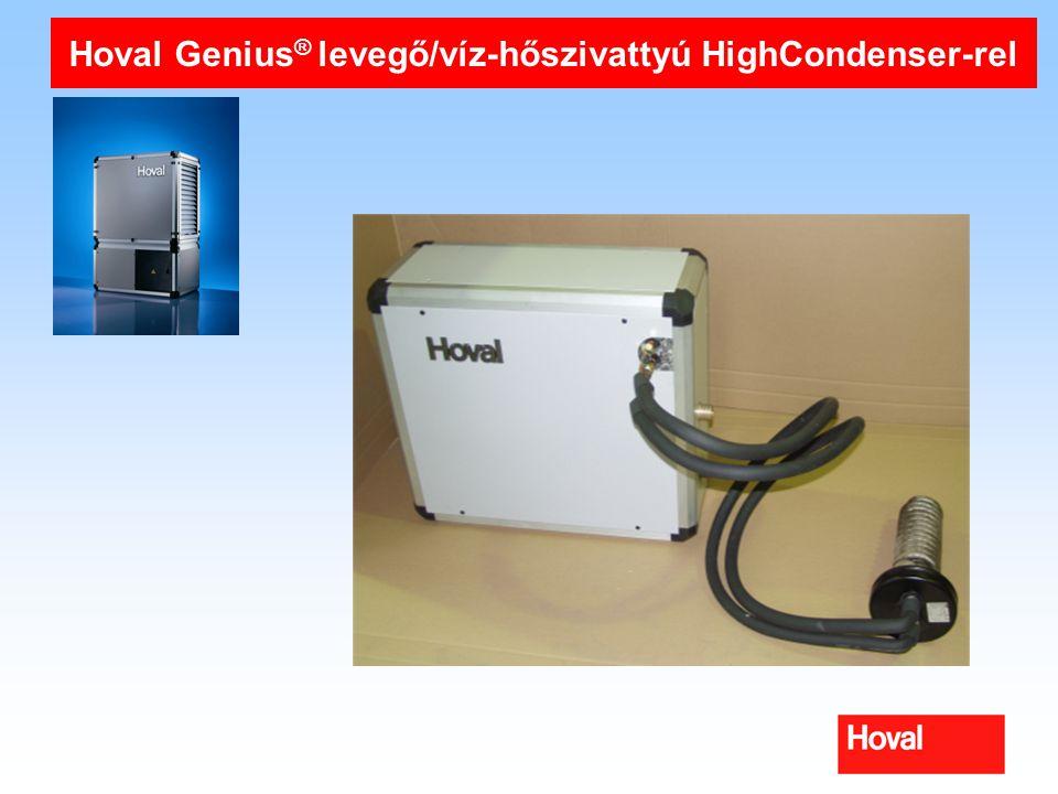 Hoval Genius ® levegő/víz-hőszivattyú HighCondenser-rel