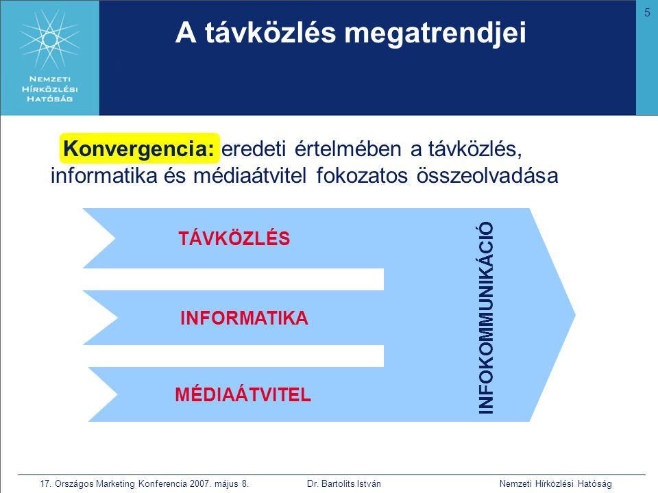 6 17.Országos Marketing Konferencia 2007. május 8.