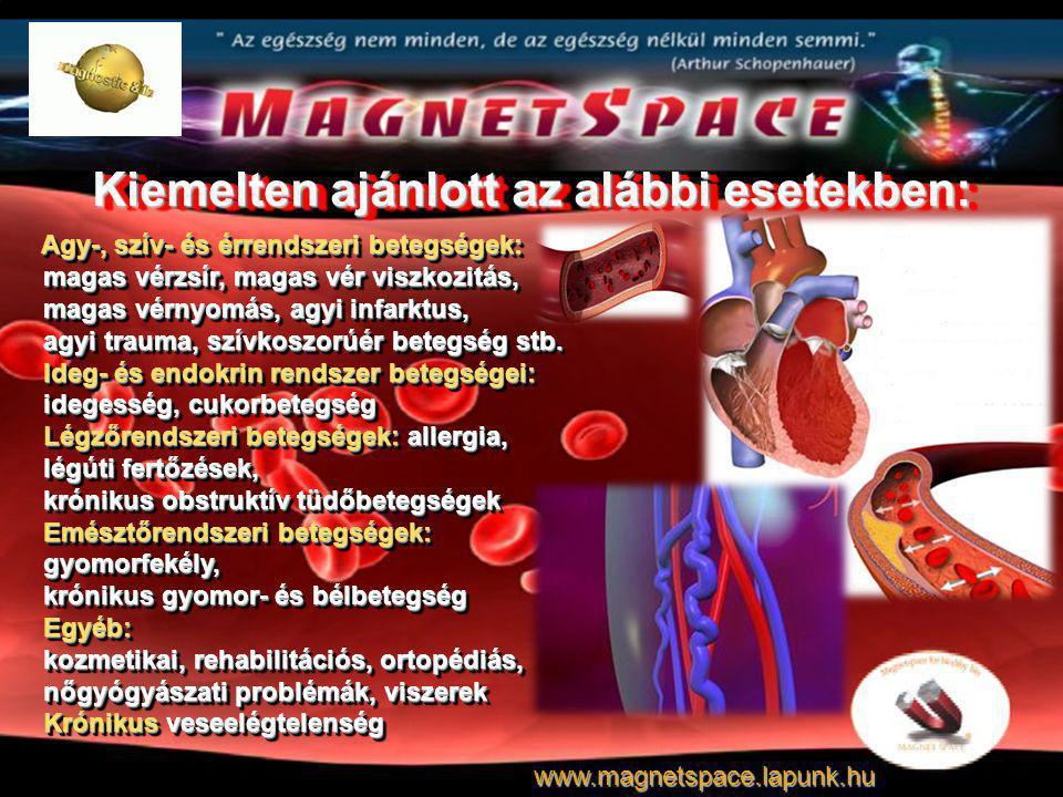 Kiemelten ajánlott az alábbi esetekben: Agy-, szív- és érrendszeri betegségek: magas vérzsír, magas vér viszkozitás, magas vérnyomás, agyi infarktus,