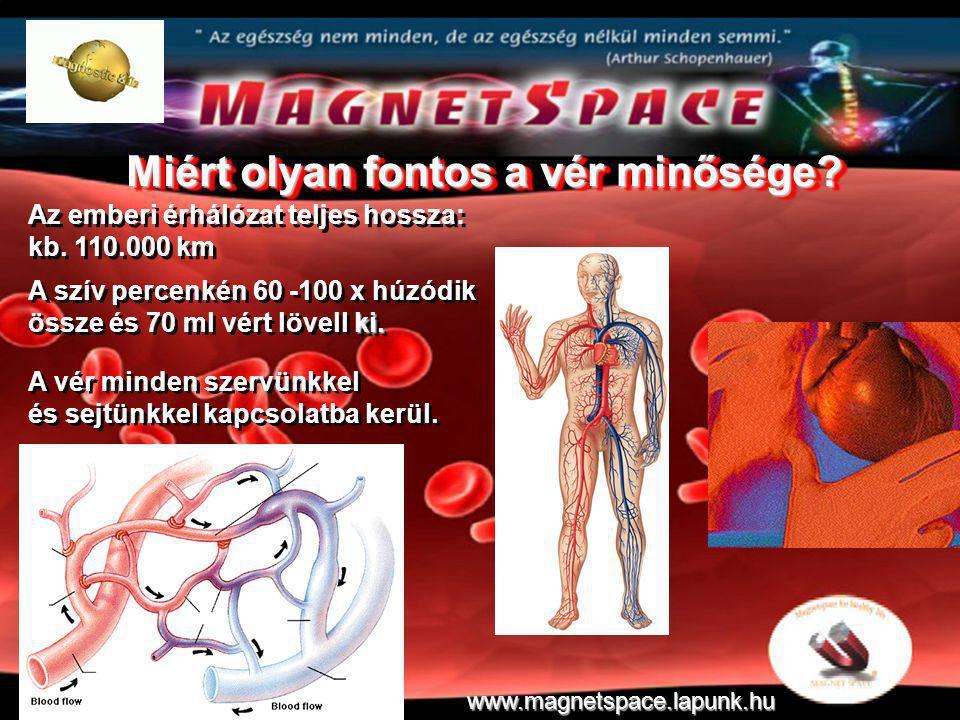 Az emberi érhálózat teljes hossza: kb. 110.000 km Az emberi érhálózat teljes hossza: kb. 110.000 km ki. A szív percenkén 60 -100 x húzódik össze és 70