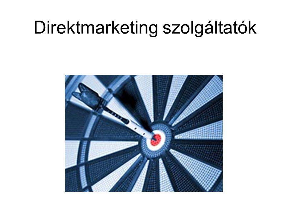 Direktmarketing szolgáltatók