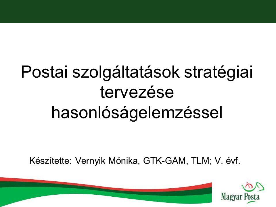 Tartalom Előzmények Hasznosság Magyar Posta Zrt.bemutatása Magyar Posta Zrt.