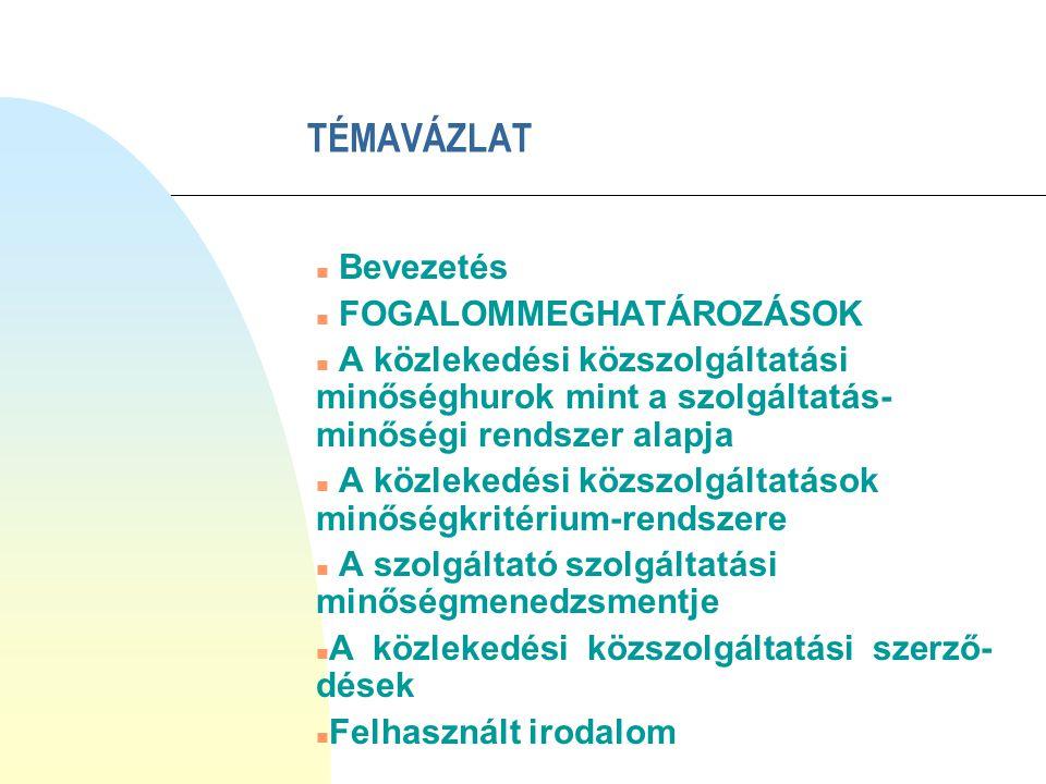 FOGALOMMEGHATÁROZÁSOK I.