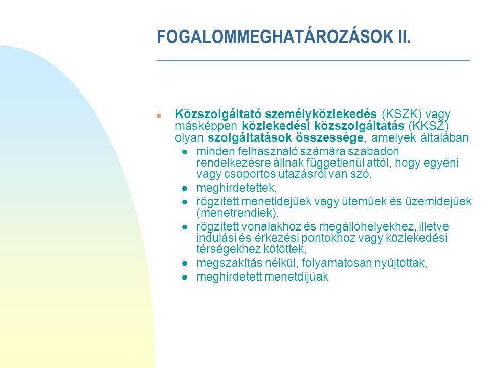 TÉMAVÁZLAT n Bevezetés n Fogalommeghatározások n A KÖZLEKEDÉSI KÖZSZOLGÁLTATÁSI MINŐSÉGHUROK MINT A SZOLGÁLTATÁS- MINŐSÉGI RENDSZER ALAPJA n A közlekedési közszolgáltatások minőségkritérium-rendszere n A szolgáltató szolgáltatási minőségmenedzsmentje n A közlekedési közszolgáltatási szerződések n Felhasznált irodalom