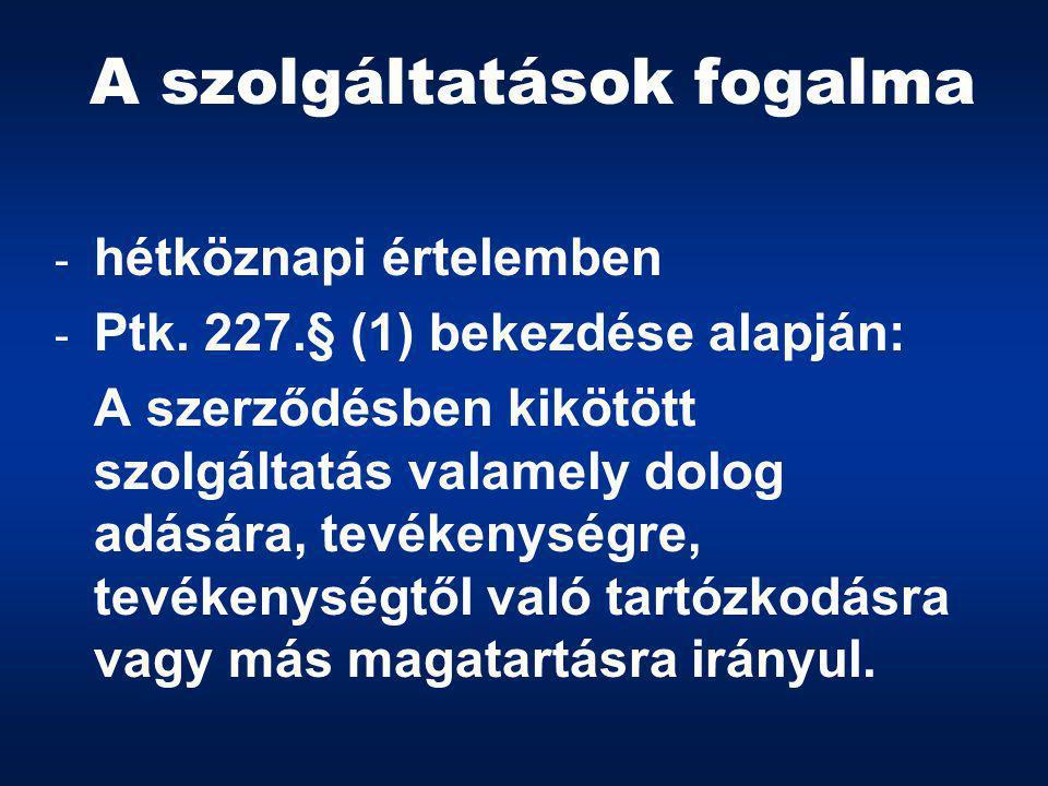 GÁZSZOLGÁLTATÁS  2003.ÉVI XLII.