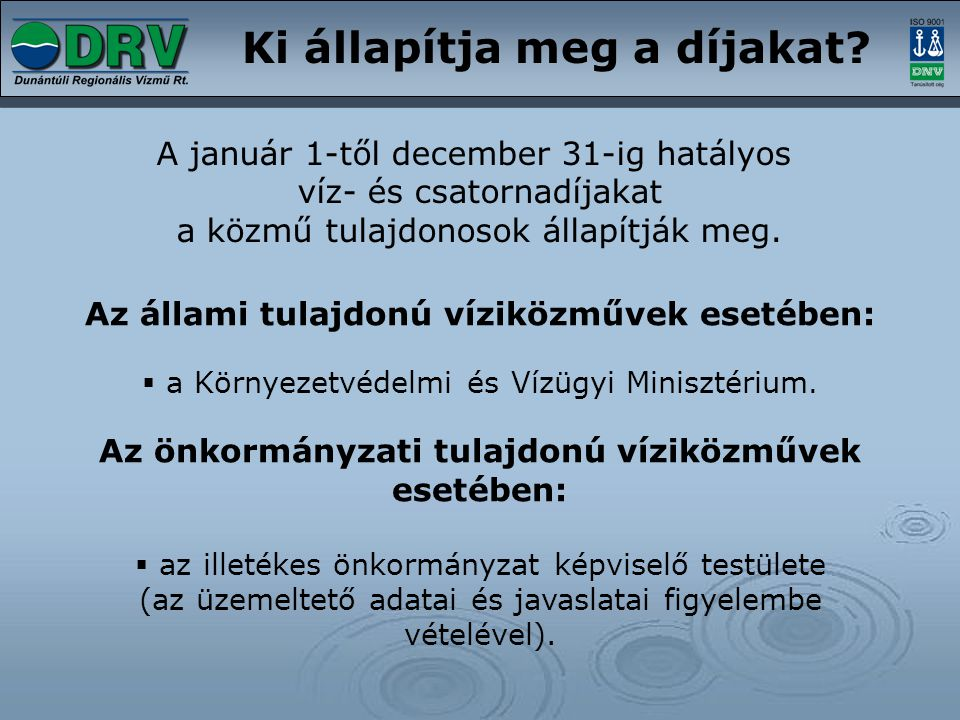 Számlázás az idényfogyasztóknál A KvVM 23/2004.