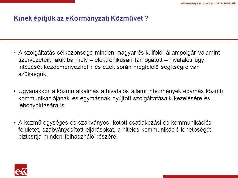 eKormányzat programok 2004-2006 Távmunka a helyi közösségért - Teleházak II.