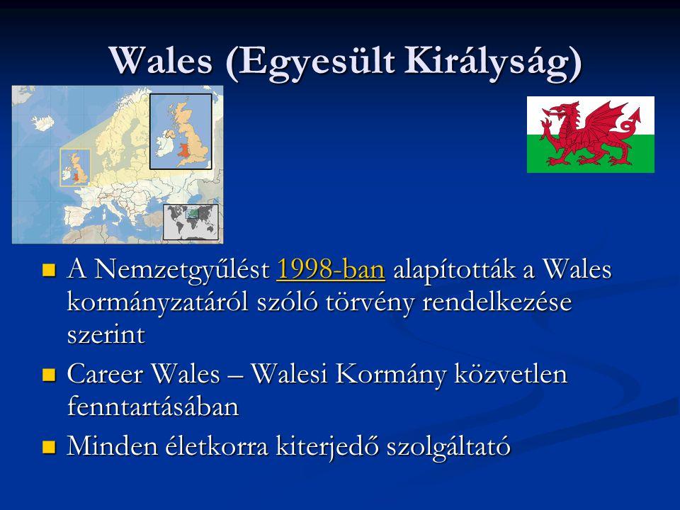 Wales (Egyesült Királyság) A Nemzetgyűlést 1998-ban alapították a Wales kormányzatáról szóló törvény rendelkezése szerint A Nemzetgyűlést 1998-ban ala