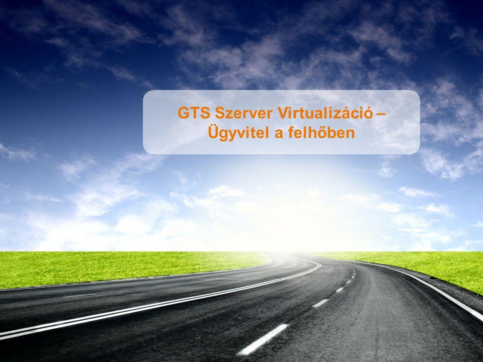 1 GTS Szerver Virtualizáció – Ügyvitel a felhőben
