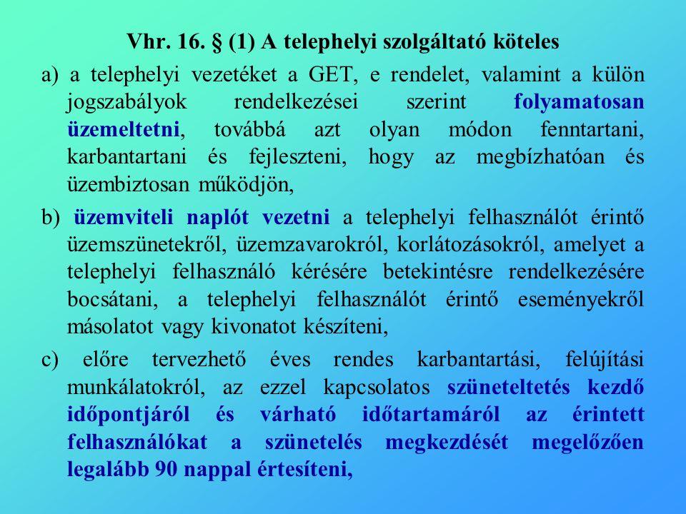Vhr. 16.