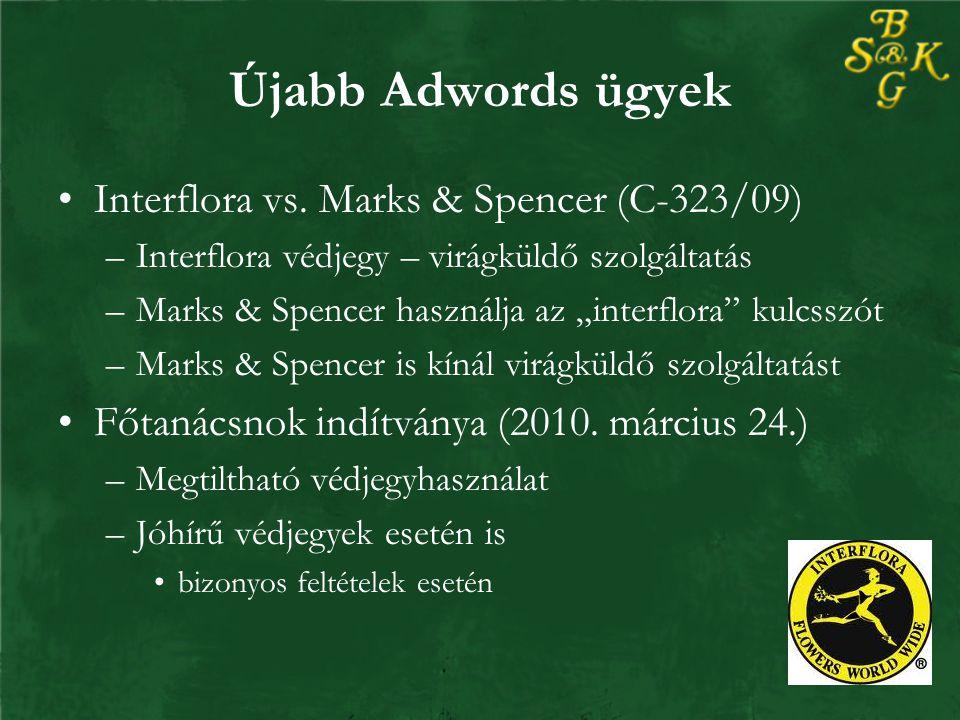 Újabb Adwords ügyek Interflora vs.