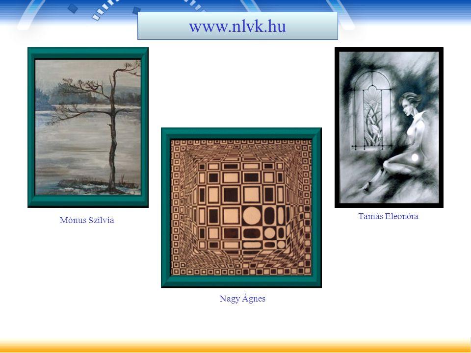 Tamás Eleonóra Mónus Szilvia Nagy Ágnes www.nlvk.hu